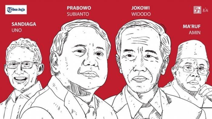 Perbandingan Suara Jokowi-Maruf dan Prabowo-Sandi di Dekat Kompleks TNI-Polri di Jakarta