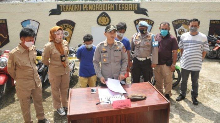 Gasak Motor TNI, Maling di Bogor Ngaku Masih Bocah Padahal Umurnya Sudah 33 Tahun
