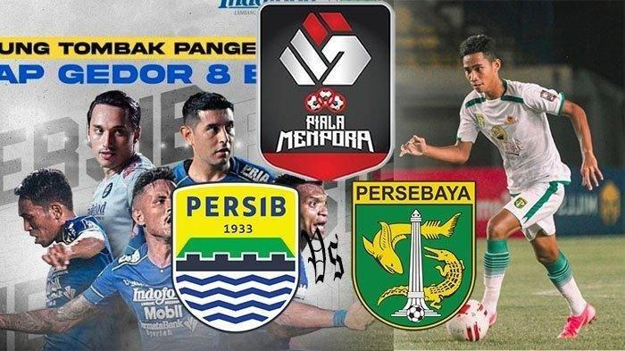 HASIL Piala Menpora: Persib Gasak Persebaya, Maung Bandung Lolos ke Semifinal, Rekor Baru Tercipta