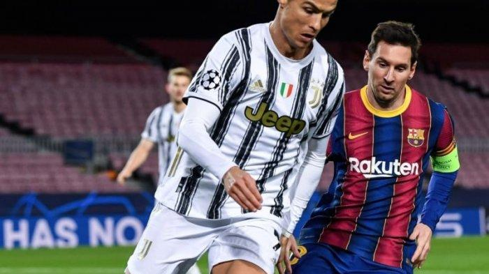 Hasil Lengkap Liga Champions Tadi Malam: Ronaldo Sukses Pecundangi Messi, Man United Turun Kasta