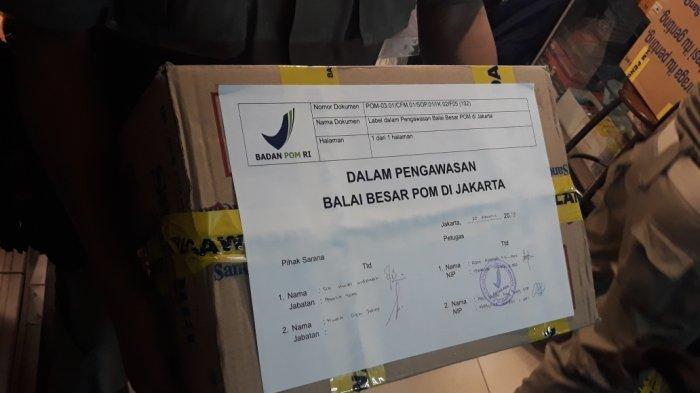 Pedagang Kosmetik di Pasar Mester Jatinegara yang Jual Produk Berbahaya Bakal Kena SP