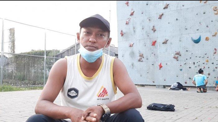 Dwi Yanto, pelatih panjat tebing Tangerang Selatan
