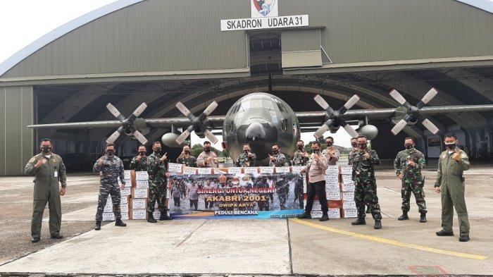 Dwipa Arya, Alumni Akademi TNI-Polri 2001 Salurkan Bantuan untuk Korban Bencana di Kalsel dan Sulbar