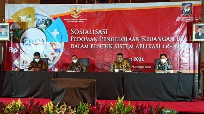 Kementerian Dalam Negeri Sosialisasi Sistem Aplikasi e-BLUD kepada Pemerintah Daerah