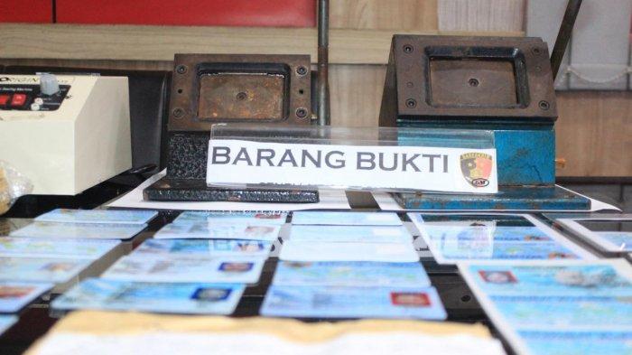 Polres Pelabuhan Tanjung Priok Ringkus Seorang Pelaku Pemalsuan e-KTP