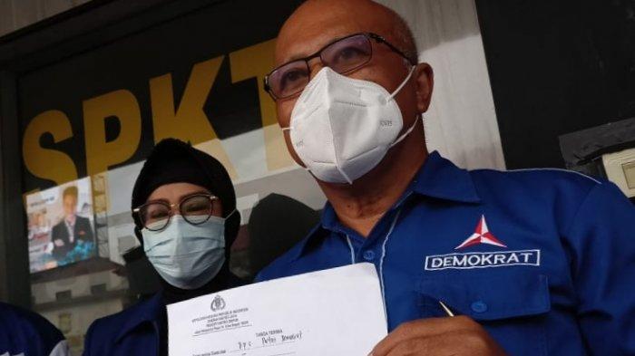 Antisipasi Pencatutan, DPC Partai Demokrat Kota Depok Buat Surat Perlindungan ke Polisi