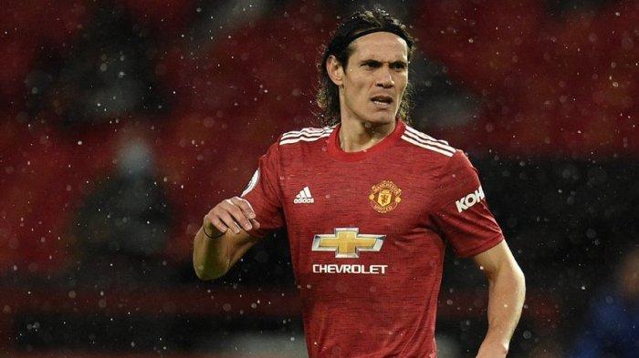 Hasil Liga Inggris: Man United Benamkan Everton 3-1, Edinson Cavani Cetak Gol di Pengujung Laga