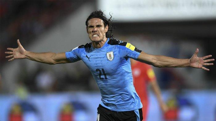 Uruguay Vs Portugal 2-1, Edinson Cavani Bawa Uruguay ke Perempat Final Piala Dunia 2018