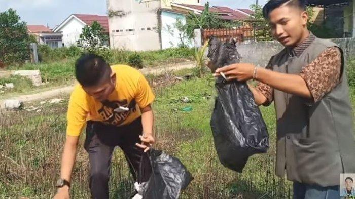 Edo Putra Ditangkap Usai Prank Daging Isi Sampah, Paman Ungkap Korban Ortu Sendiri: Cuma Settingan