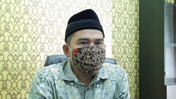 Sekretaris DKM Agung Al-Barkah Bekasi Mustain saat dijumpai, Senin (12/4/2021).