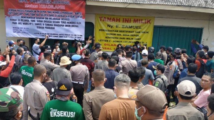 PN Depok Eksekusi Sengketa Lahan dan Bangunan di Jalan Dewi Sartika, TNI Polri Diterjunkan