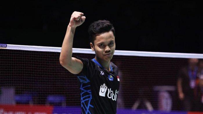 BWF World Tour Finals 2019: Ginting Kalah Lawan Chou Tien Chen, Gagal Atasi Match Point ke-5 Lawan