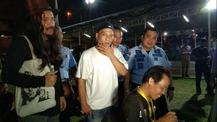 Pesan Iwa K dan Ello untuk Tahanan Rutan Cipinang