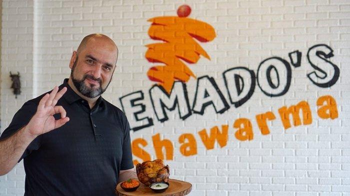 Intip Kelezatan Emado's Shawarma Kuliner Timur Tengah, Grilled Chicken Jadi Favorit Pengunjung