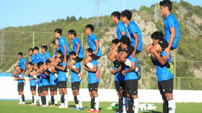Para pemain Timnas U-19 Indonesia diberikan materi latihan dengan intensitas tinggi di Kroasia.