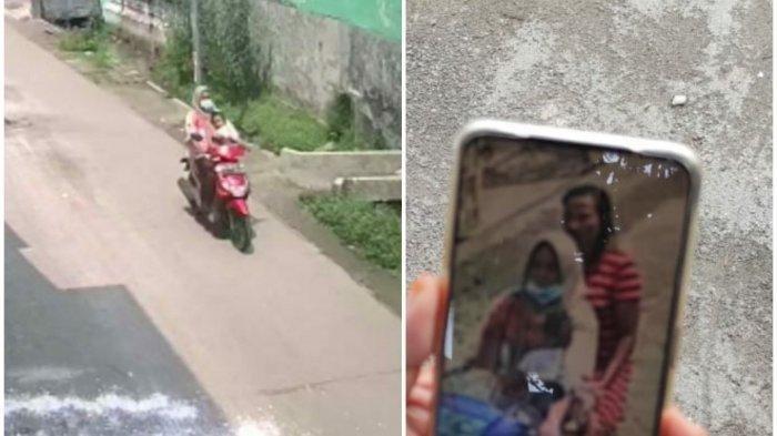 Ibu yang mengajak bayinya mencuri motor dan aksinya terekam CCTV di parkiran rumah kos Dusun Wonokoyo, Desa Sumbertanggul, Kecamatan Mojosari. Kabupaten Mojokerto.