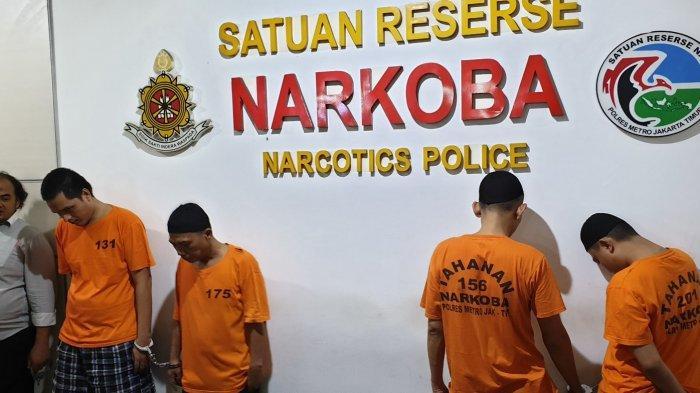 5 Orang Kurir Sabu Diamankan Polisi, 1 di Antaranya Petugas Keamanan RS