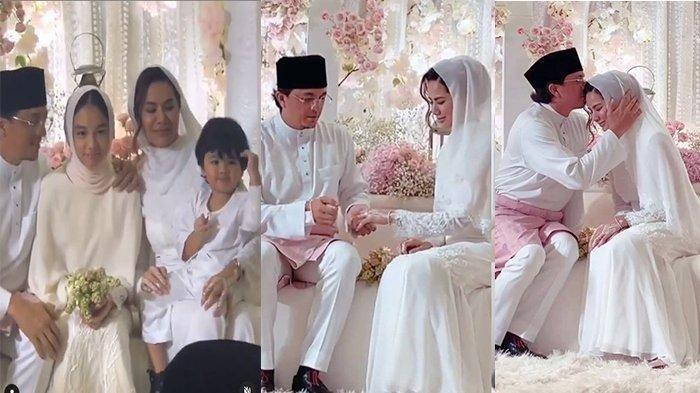 Viral Video Nikahan Engku Emran dengan Noor Nabila, Nasib Anak Mantan Laudya Cynthia Bella Disorot