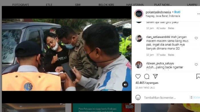 Viral 'Kang Mus' Preman Pensiun Dicegat di Pos Penyekatan, Sikap Sang Aktor ke Petugas Jadi Sorotan