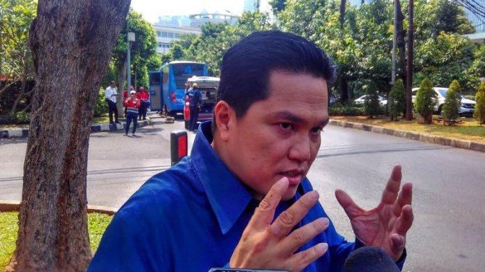 Sibuk Jadi Ketua TKN, Erick Thohir Tegaskan Tak Ingin Jadi Ketum PSSI