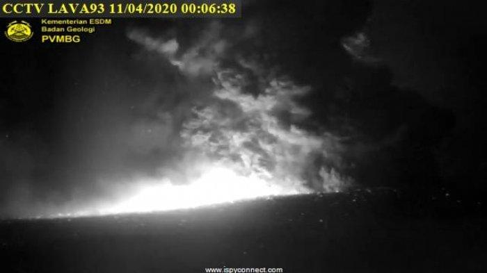 Erupsi Gunung Anak Krakatau, Kolom Abu Capai 500 Meter ke Atas