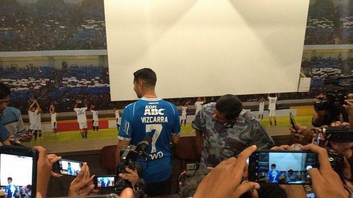 Nomor Punggung 7 Persib Bandung Kini Dipakai Esteban Vizcarra, Atep Kaget