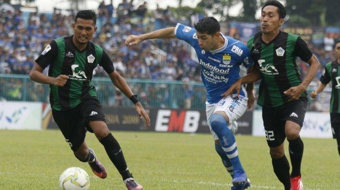 Pulih Cedera, Esteban Vizcarra Ramaikan Perang Bintang Persib Bandung Vs Madura United