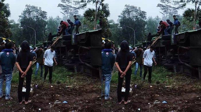 Ibunda Sopir Bus Kecelakaan di Subang Rasakan Hal Aneh Sebelum Peristiwa Maut Terjadi