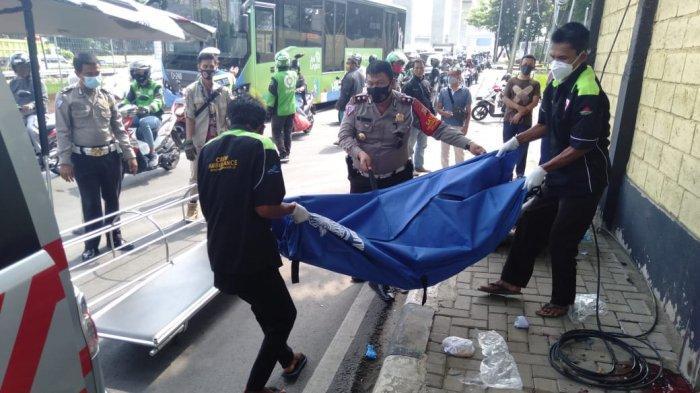 Diboceng Sepeda Motor, Seorang Mahasiswi Tewas Dalam Kecelakaan Tunggal di Cilandak Jakarta Selatan