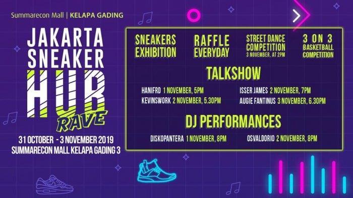 Jakarta Sneaker Hub Hadir Lagi, Sepatu Langka Incaran Kolektor Bakal Dijual dengan Harga Spesial