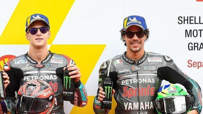 Jelang MotoGP Aragon, Fabio Quartararo Sambut Dingin Franco Morbidelli, Rekan Barunya di Tim Yamaha