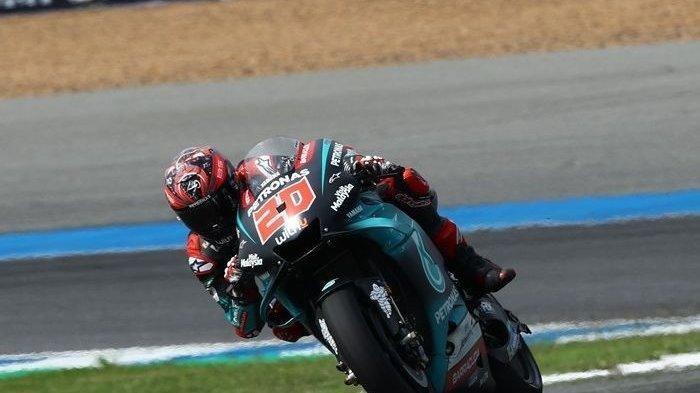 Fabio Pole Position, Rossi-Marquez Jatuh di Kualifikasi MotoGP Thailand hingga Kabar Rossi Pensiun
