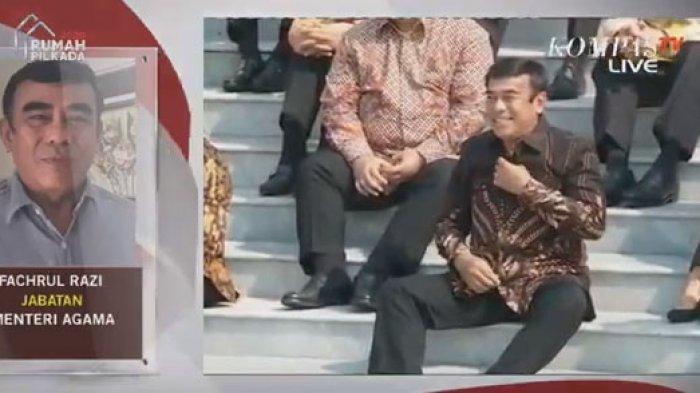 Momen Fachrul Razi Bikin Ngakak Mahfud MD, Jokowi & Maruf Amin Semringah saat Dikenalkan Jadi Menag
