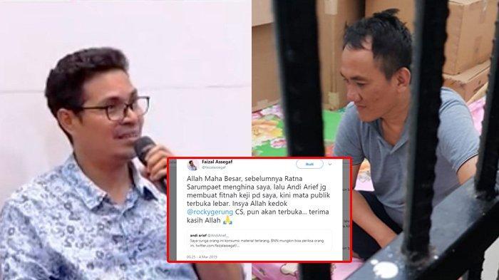 Andi Arief Positif Konsumsi Sabu, Kicauannya Terkait Material Terlarang Diungkit Faizal Assegaf