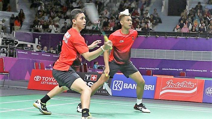 Tumbangkan India, Tim Beregu Putra Badminton Indonesia Melaju ke Semifinal