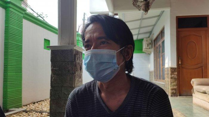 Fanni Arimulia Nugraha (42) saat ditemui di kawasan Cipayung, Jakarta Timur, Minggu (22/8/2021)