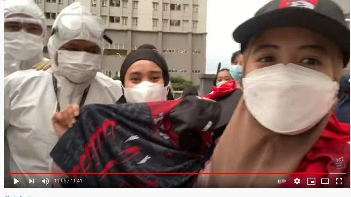 Masih Positif, Arafah & Fatin Shidqia Sukses Hibur Nakes dan Pasien Corona di Wisma Atlet: Liat Nih