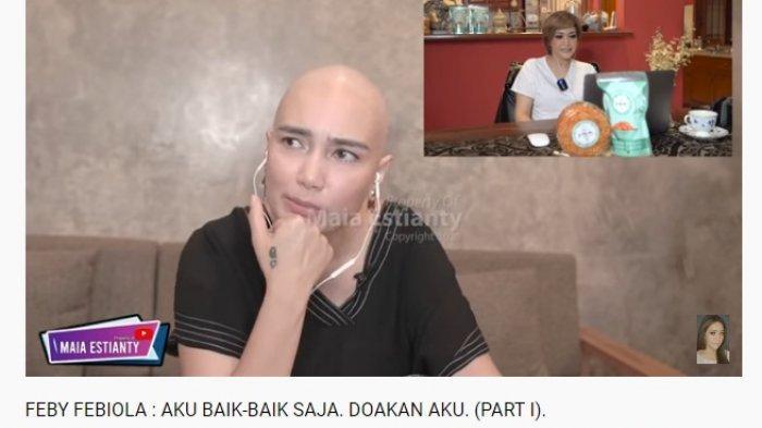 Respon Santai Feby Febiola saat Tahu Dirinya Idap Tumor Ganas, Maia Estianty Acungkan Jempol: Keren