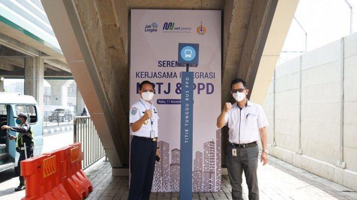 Perum PPD Sediakan Bus Pengumpan Bagi Pengguna MRT