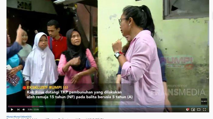 Feni Rose Datangi Rumah Korban Pembunuhan Siswi SMP di Sawah Besar, Kaget Lihat Ini: Deket Banget
