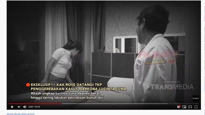 Ditemani Abash Sambangi TKP Penggerebekan Lucinta Luna, Feni Rose Temukan Ini di Kamar: Kamu Sakit?