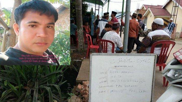 Kegelisahan Jalaluddin dan Firasat Sang Istri Soal Ucapan Terakhir Sopir Bus Sriwijaya - ferri-sopir-bus-sriwijaya.jpg
