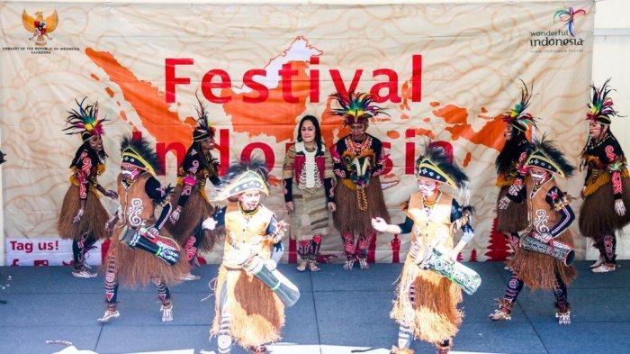 Festival Indonesia 2019 di Canberra, Ribuan Pengunjung Saksikan Budaya dan Nikmati Kuliner Nusantara