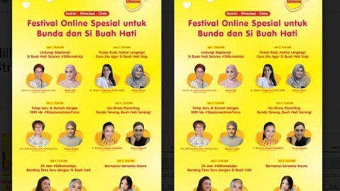 Jangan Lewatkan Festival Online Parenting untuk Bunda Besok, Ada Meisya Siregar & Donna Agnesia