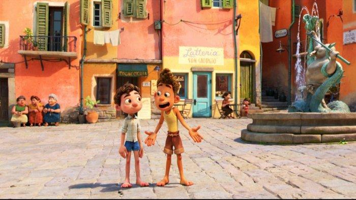 Tayang di Bulan Juni, Disney dan Pixar's Rilis Teaser Film Animasi Luca: Nih Sinopsisnya