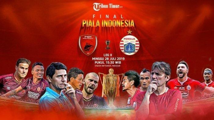 PSM Makassar Vs Persija Jakarta Final Leg 2 Piala Indonesia, Simak Imbauan untuk Suporter