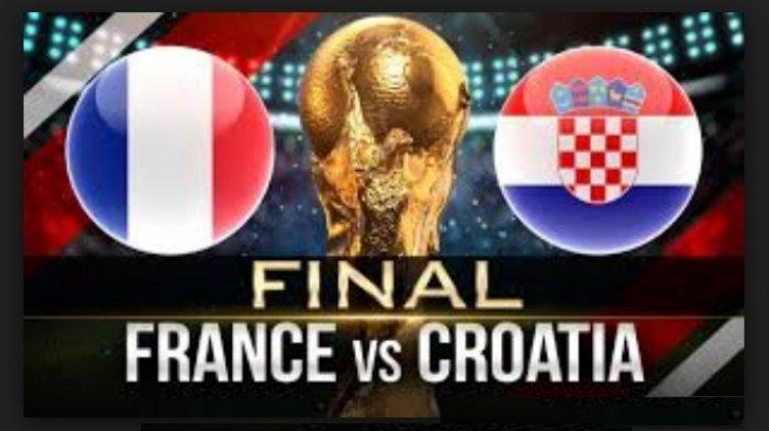 Ini Susunan Pemain Perancis Vs Kroasia di Laga Final Piala Dunia 2018