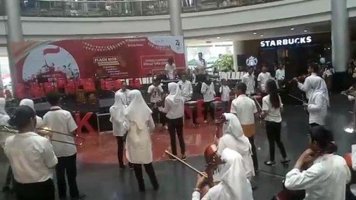 Margo City Suguhkan Flashmob Musik Orchestra Hingga Tarian saat Hari Kemerdekaan RI