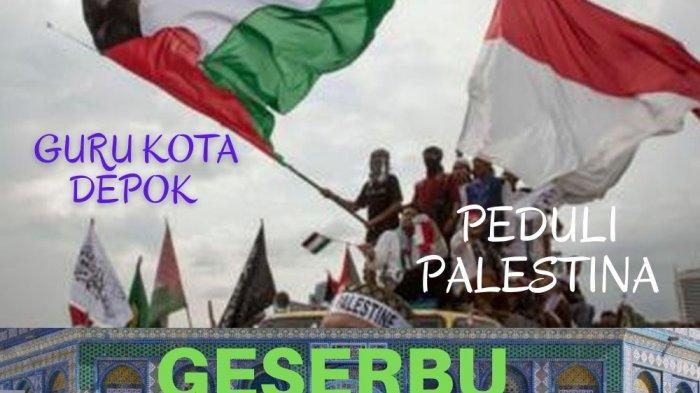 Donasi untuk Palestina, Guru di Depok Diimbau Sumbang Rp 100 Ribu
