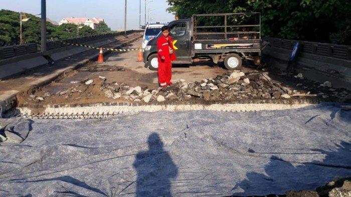 Kepala Dinas Bina Marga Salahkan Truk Bermuatan Lebih Jadi Penyebab Flyover Cilincing Ambles